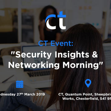 Security Insights & Networking Morning